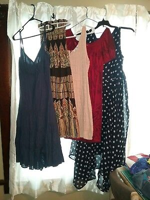 Lot of 5 women's summer dresses, size large