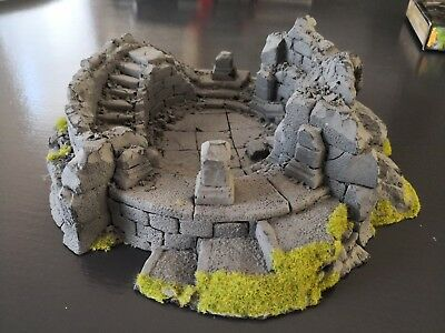 Lord of the Rings Warhammer Ruined Watchtower Osgiliath scenery terrain