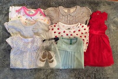 Girls 0-3 Months Bundle Outfits Dresses Rompers MOTHERCARE M&S