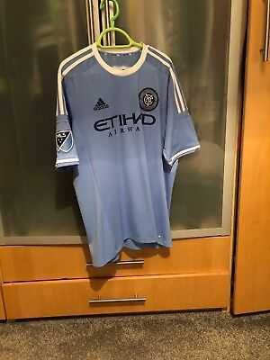 Mens Adidas New York City Football Shirt Size Large