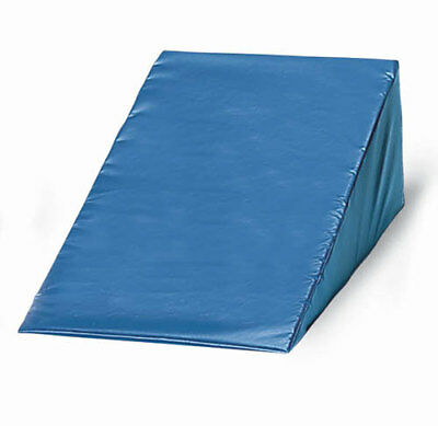 Vinyl Covered Foam Wedge 8 h x 20 w x 22 l  Navy