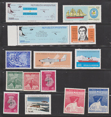 ANTARCTIC TERRITORIES General issue, 38 STAMPS , MNH**, see scan!