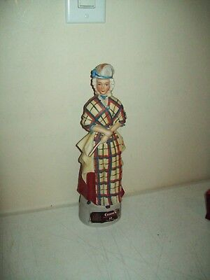 vintage 1970 Grant's Scotch Whiskey Decanter Figurine with sticker intact RARE