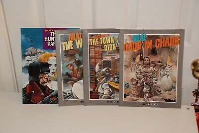 Enki Bilal Graphic Novel Collection . Gods In Chaos/ hunting party