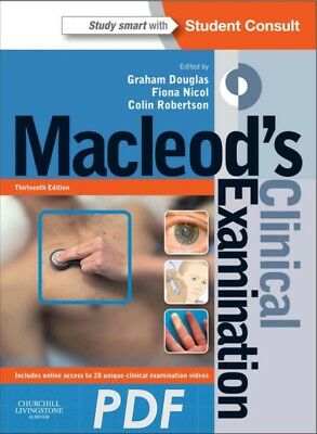 Macleod's Clinical Examination Latest Edition - PDF [*Bargain - Quick Delivery*]