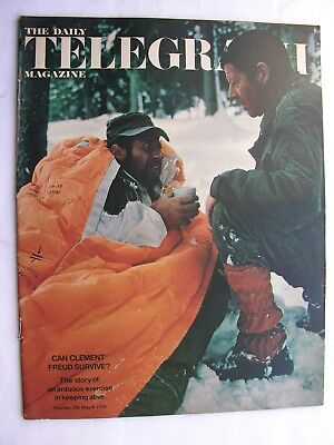 TELEGRAPH MAGAZINE May 8 1970 Henri Cartier-Bresson Christy Brown Jerusalem