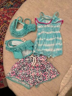 Cat and Jack Jumper with Bathing Suit and Shorts 3-6 months