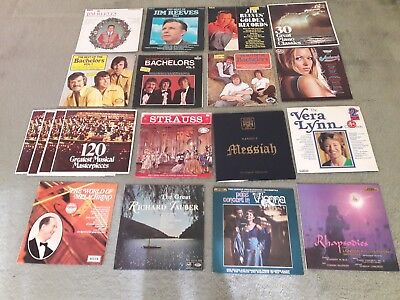 Job Lot of Records - LP's, EP's, 45's & 78's - Various Sizes & Ages- approx 175