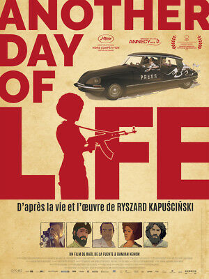 ANOTHER DAY OF LIFE - Affiche cinema 40X60 - 120x160 Movie Poster