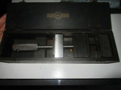 Vintage Moore And Wright Engineering Vice Boxed