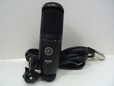 Akg P120 Large Diaphragm Microphone Black W/ Stand Adapter