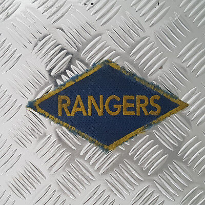 D-Day 2nd Rangers British Made Patch WW2