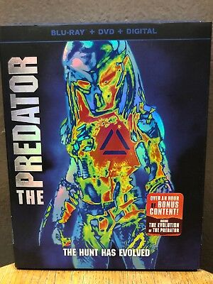 The Predator (Blu-ray + DVD, 2018) Olivia Munn