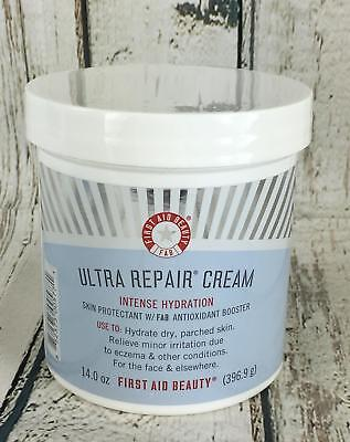 NEW Sealed, First Aid Beauty Ultra Repair Cream Intense Hydration, 14 oz