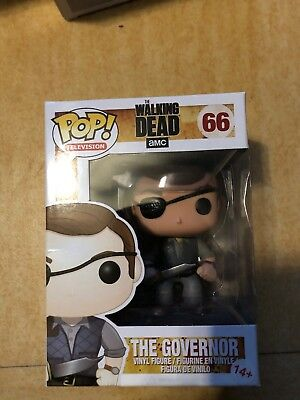 Funko Pop Governor Gouverneur The Walking Dead