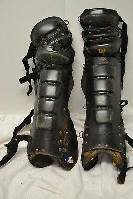 Wilson Umpire Shin Guards. Used