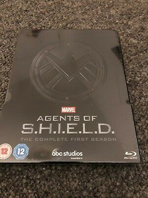 MARVEL AGENTS OF SHIELD Season 1 Limited Edition BLU RAY Steelbook *NEW+SEALED*