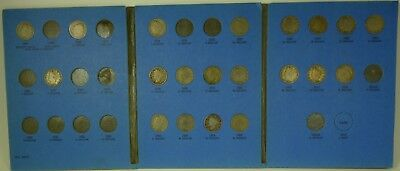 Liberty Head Nickel Set 1883 - 1912 20 Coins in Whitman Folder NO RESERVE