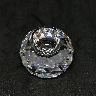 4c9cac309 RARE Retired Swarovski Crystal 133 Candle Holder Ball Medium 010134 Boxed  7600