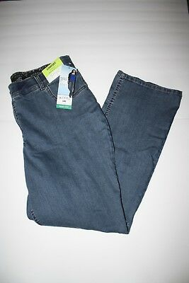 1a0a39ceb0a LEE RIDERS MIDRISE bootcut jeans NEW 18 W M -  15.00