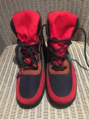 Ladies Rohde Multi Coloured Suede Material Sympatex Hiking Ankle Boots 7.5 UK