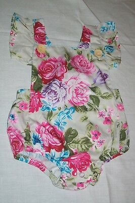 Baby girls clothes Spanish style romper suit 80cm - combined postage available