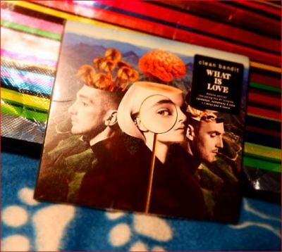 Clean Bandit Fast Freepost Deluxe What Is Love 4 Extra tracks CD New 30 Nov 2018