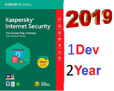KASPERSKY Internet Security 2019 2020   1 Pc 2 Years  - Instant Delivery ⚡️  -