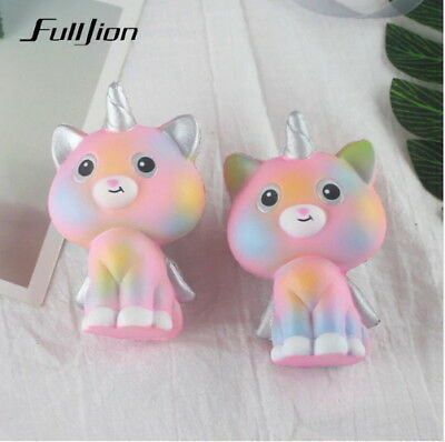 Fulljion Novelty Gag Toys Unicorn Cat Squishy Antistress Gags Practical Jokes St