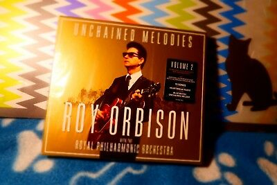 """Roy Orbison New 23 Nov 2918 """"Unchained Melodies"""" Royal Philharmonic Orchestra CD"""
