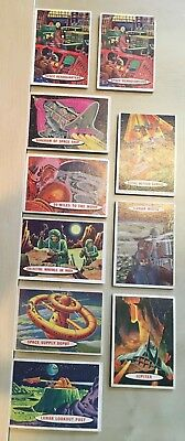 Topps Vintage 1957 Space Cards (10 card lot)