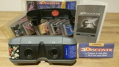 3D Viewer View Master 3discover Stereoscope. Celine Dion. Cirque de Soleil.
