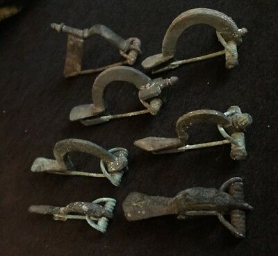 Roman  Legion Celtic ancient brooches fibula artifacts 1 -3 century AD