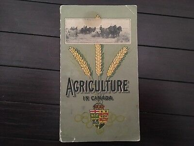 St. Louis World Fair St Louis 1904 Agriculture In Canada Booklet 27pgs