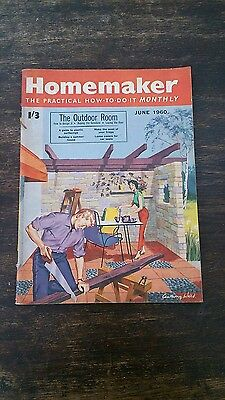 Homemaker, how to do it monthly, june 1960, vintage magazine 782 pages