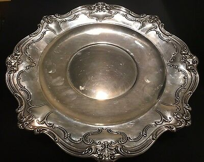 Gorham Sterling Silver Plate #746 ~ Chantilly - Duchess ~ No Mono 10""