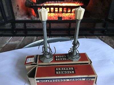 Vintage Lionel  No.71  Lamp Posts  with Original Boxes - Pair of Items (2)