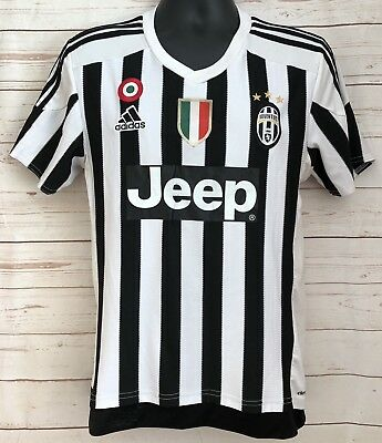 JUVENTUS JERSEY HOME 2016-2017 Mens Size Large Adidas New Without ... 696786208
