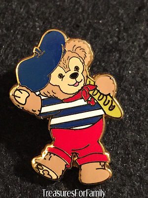 Disney Pin Duffy Bear Mini Collection France Costume FREE SHIPPING