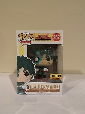 Funko Pop! Deku (Battle) My Hero Academia Hot Topic Exclusive *IN HAND*