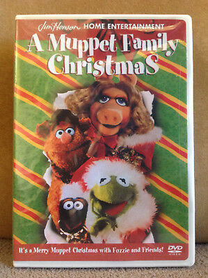 A Muppet Family Christmas (RARE DVD, 2001) NEW & FACTORY SEALED