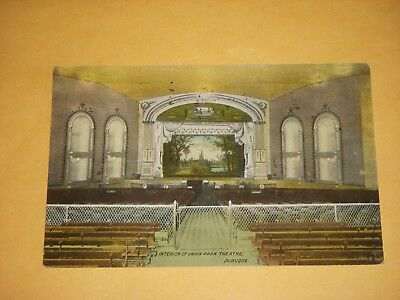 INTERIOR OF UNION PARK THEATER, DUBUQUE, IOWA - EARLY 1900s