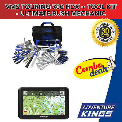 VMS Touring 700 HDX + Adventure Kings Tool Kit - Ultimate Bush Mechanic
