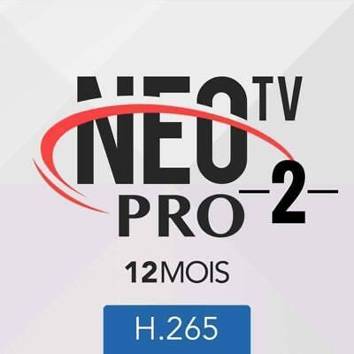 offre iptv NEO TV PRO2 H.265, 12 months code and M3U Smart TV,android