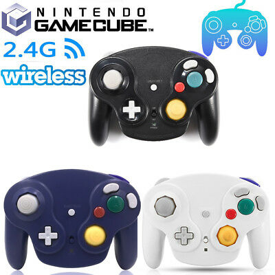 Wireless Shock Game Controller Pad Dual Analog for Nintendo Switch Gamecube NGC