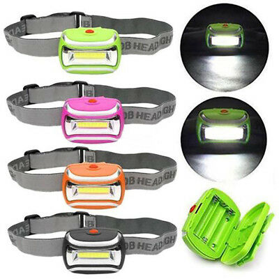 2000 LM LED 3 Mode Headlamp AAA Headlight Adjustable Camping Torch Lamp Light OP
