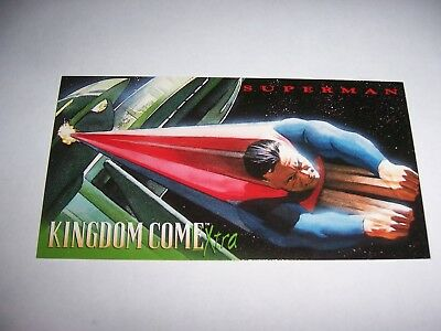 1996 SUPERMAN KINGDOM COME XTRA SKYBOX WIDEVISION PROMO CARD NO NUMBERS DC Comic