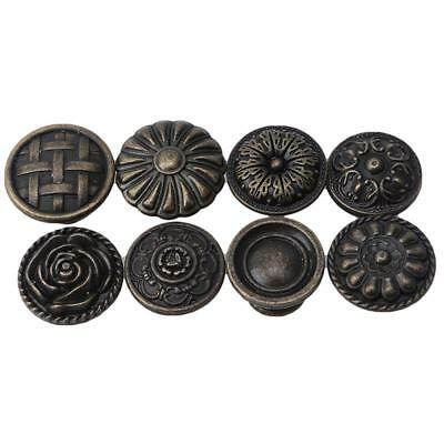 Home Cupboard Door Cabinet Drawer Furniture Antique Pull Handles Knobs Access JJ