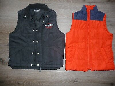 Boys Padded Vests x 2 - size 5 (Excellent condition)