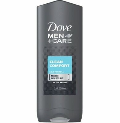 Dove Men+Care Body and Face Wash Clean Comfort 13.5 oz Pack Of 2